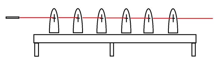 Figure 5 - Laser-aligned frames